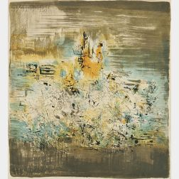 Zao Wou-Ki (Chinese/French, 1921-2013)      Untitled