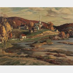 Aldro Thompson Hibbard (American, 1886-1972)      South Londonderry, Vermont