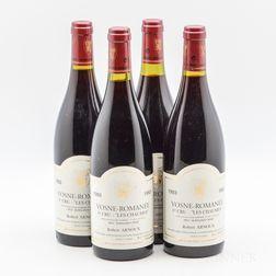 Robert Arnoux/Arnoux Lachaux Vosne Romanee Les Chaumes 1993, 4 bottles