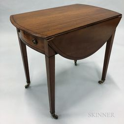 Georgian-style Mahogany Pembroke Table