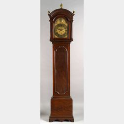 Queen Anne Mahogany Tall Case Clock