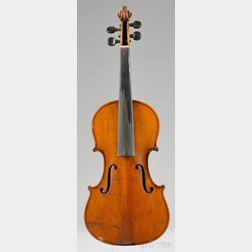 Modern German Violin, Eduard Reichert, Dresden, 1912