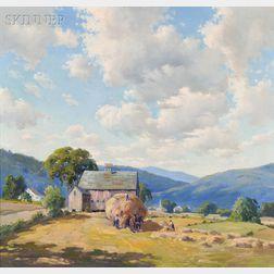 Charles Gordon Harris (American, 1891-1963)      Haying