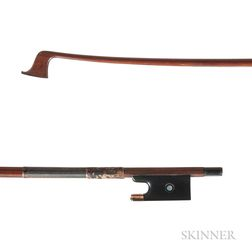 Gold-mounted Violin Bow, Otto A. Hoyer