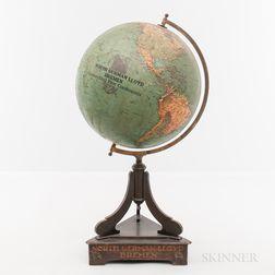 Rare Norddeutscher Lloyd Breman Line Agent's Globe