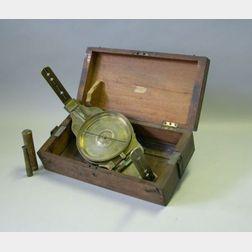 Surveyor's Vernier Compass by Hagger
