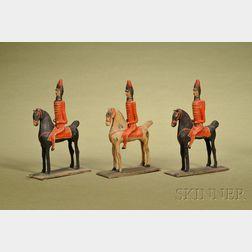 Three Nuremberg Soldiers on Horseback