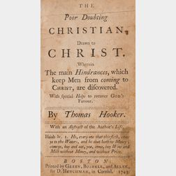 Hooker, Thomas (1586-1647) The Poor Doubting Christian Drawn to Christ
