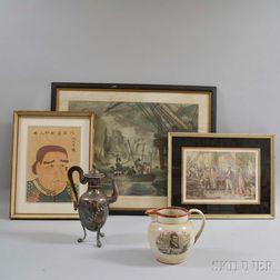 Five Commodore Perry Commemorative Items