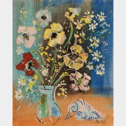 Jean Dufy (French, 1888-1964)      Fleurs