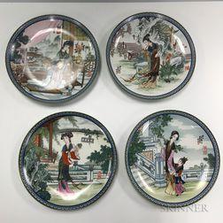 Twelve Imperial Jingdezhen Plates