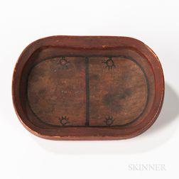 Miniature Eskimo Wood Bowl
