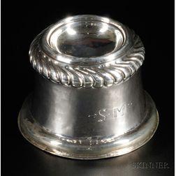 Silver Trencher Salt