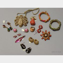 Group of Assorted Designer Costume Jewelry