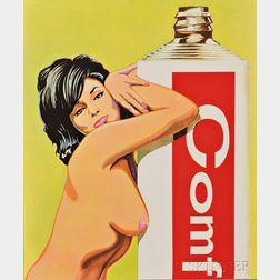 Mel Ramos (American, b. 1935)      Miss Comfort Creme