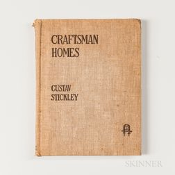 Gustav Stickley, Craftsman Homes