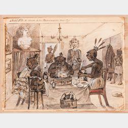 Reverend Meekly Obstinate Pious vs. the Fegee Islanders.