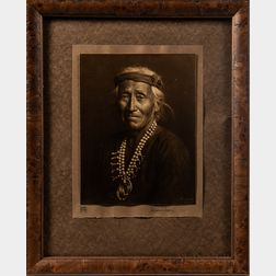 Karl Moon Photograph of a Native American, Pesothlanny