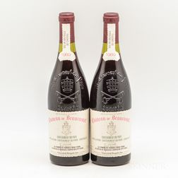 Chateau Beaucastel Chateauneuf du Pape 1989, 2 bottles