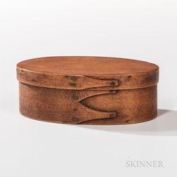 Small Shaker Oval Three-finger Pantry Box