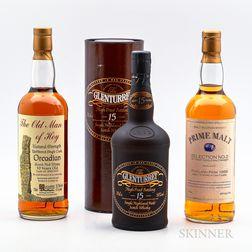 Mixed Single Malt, 2 750ml bottles 1 70cl bottle (ot)