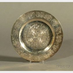 Mexican Sterling Plate