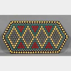 Wool and Cotton Penny Rug
