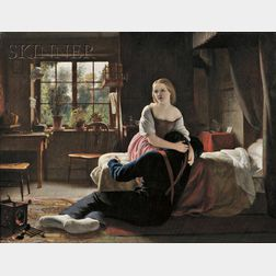 Francis Stephen Cary (British, 1808-1880)      Consolation