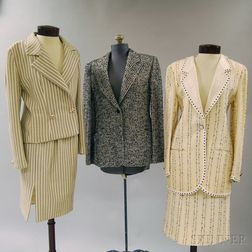 Eight Lady's Suits and Suit Jackets
