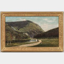 Frank Henry Shapleigh (New Hampshire, 1842-1906)      The Crawford Notch