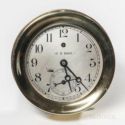 Chelsea U.S. Navy Marine Clock