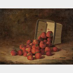 Bryant Chapin (American, 1859-1927)      Strawberries Spilling from a Box