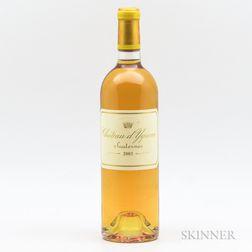 Chateau dYquem 2003, 1 bottle