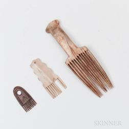 Three Eskimo Combs
