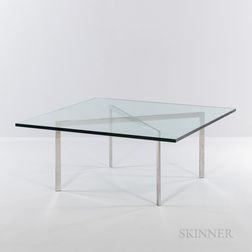 Ludwig Mies van der Rohe (German, 1886-1969) for Knoll Barcelona Table