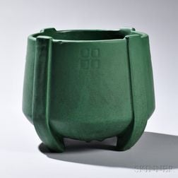Art Pottery Jardiniere in the Manner of Weller