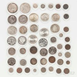 Group of Dutch and Colonial Coins