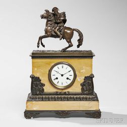 Louis Philippe Napoleonic Mantel Clock