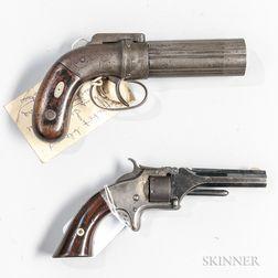 Two 19th Century Pistols