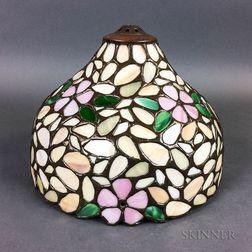 Leaded Glass Boudoir Lamp Shade