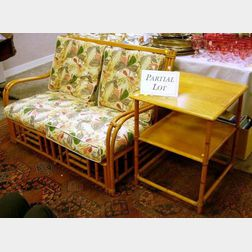 Heywood-Wakefield Furniture Rattan Porch Set