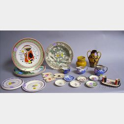 Twenty-two Assorted Decorated Ceramic Items