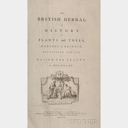 Hill, John [Botanist] (1716-1775) The British Herbal