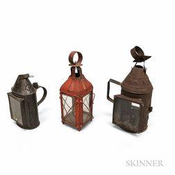 Three Tin Lanterns