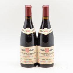 Robert Chevillon Nuits St. Georges Les Cailles 1990, 2 bottles