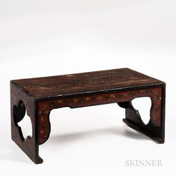 Painted Lacquer Kang Table