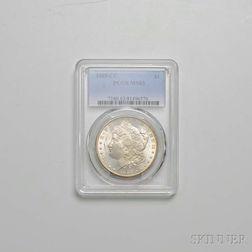 1885-CC Morgan Dollar, PCGS MS63.