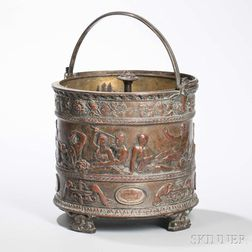 Silvered Bronze Wine Cooler