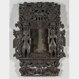 Ornately Carved Mirror Frame