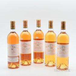 Chateau Rieussec, 5 bottles